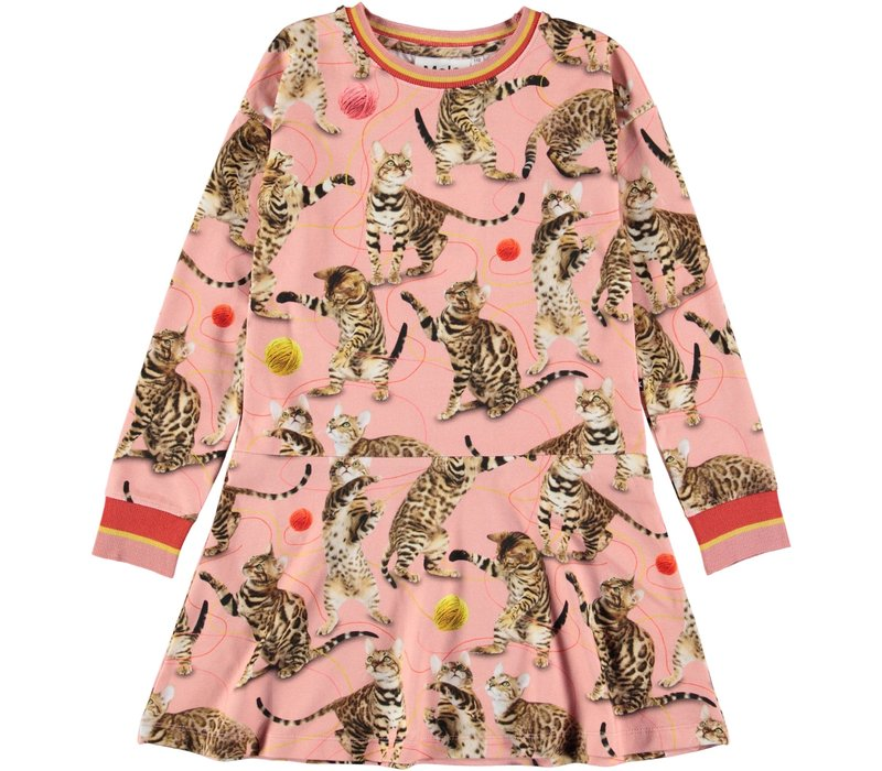 Molo Conny Dress Wannabee Leopard