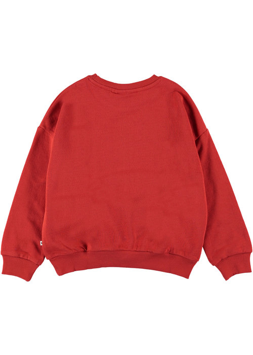 Molo Molo Maja Sweat Shirt Vermillion Red