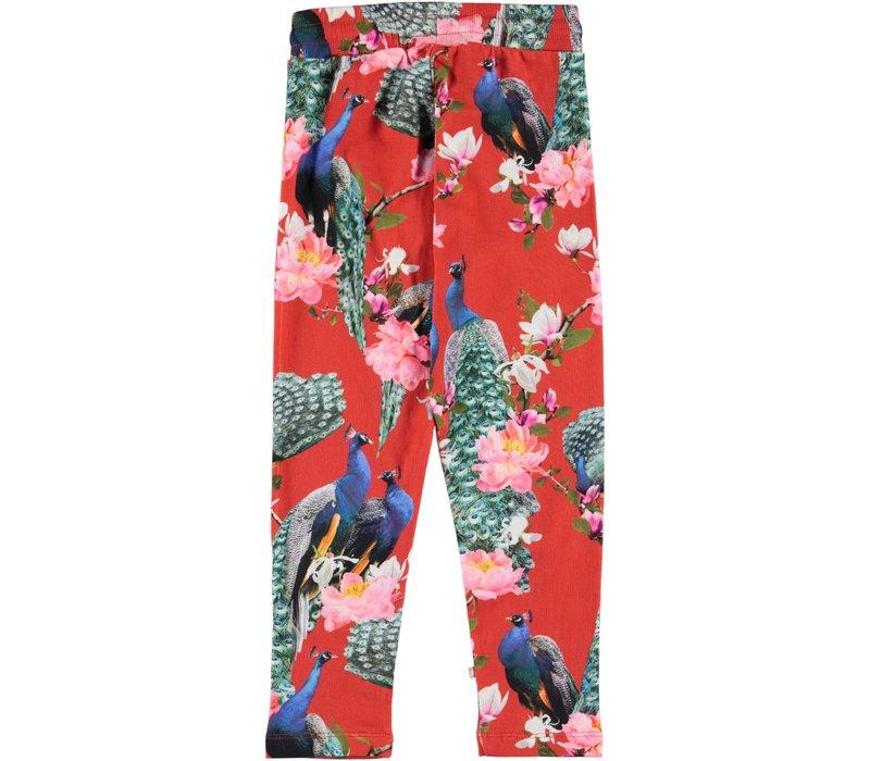 Molo Antonia Soft Pants Red Peacock