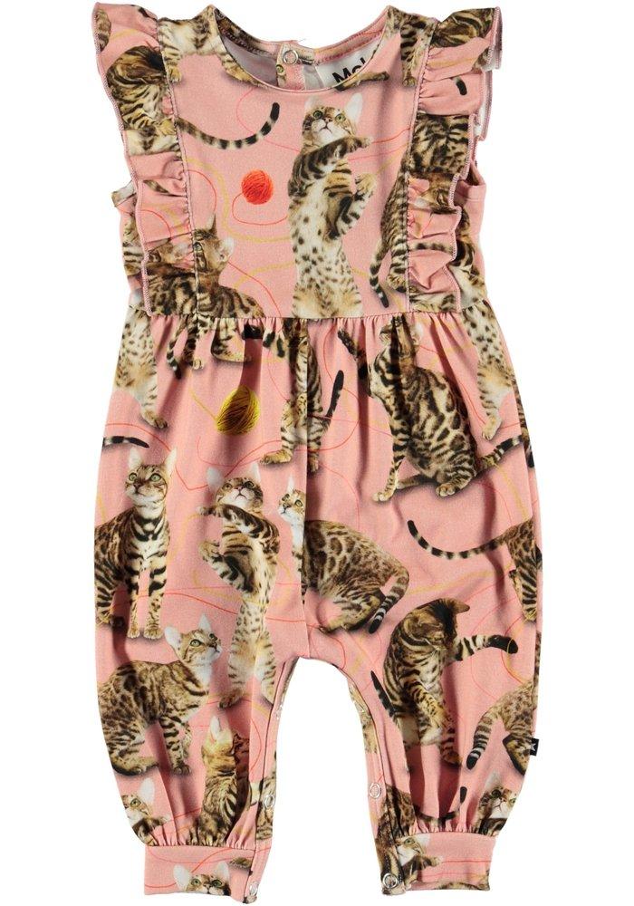 Molo Bodysuit Jersey Fallon Wannabee Leopard