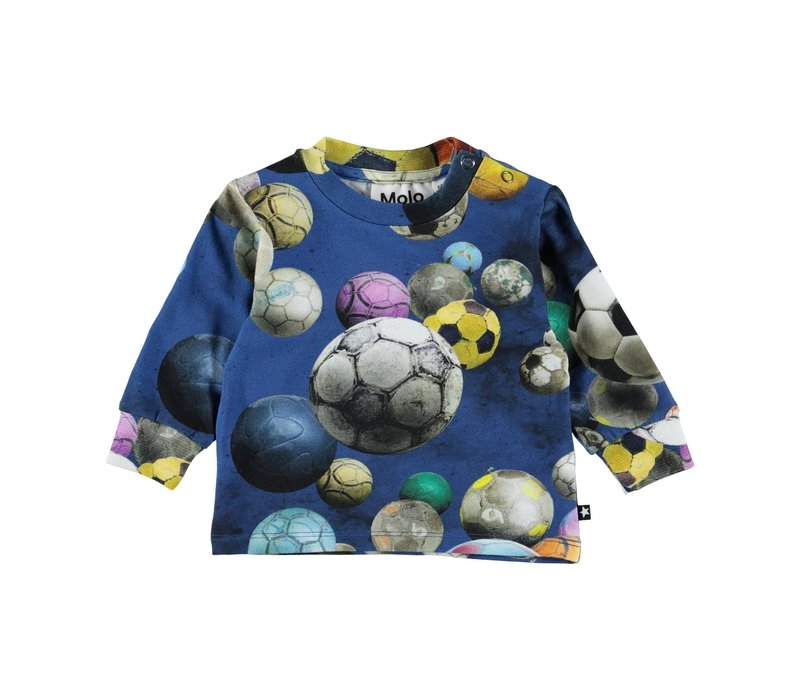 Molo Eloy T-shirt LS Cosmic Footballs