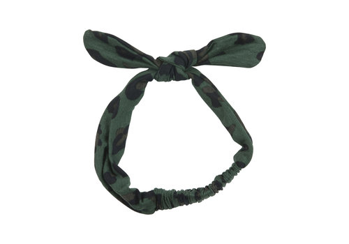 Wauw Capow by BangBang CPH Wauw Capow by BangBang Molly Hairband Green Leopard