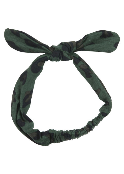 Wauw Capow by BangBang CPH Wauw Capow by BangBang Molly Hairband Green Leopard