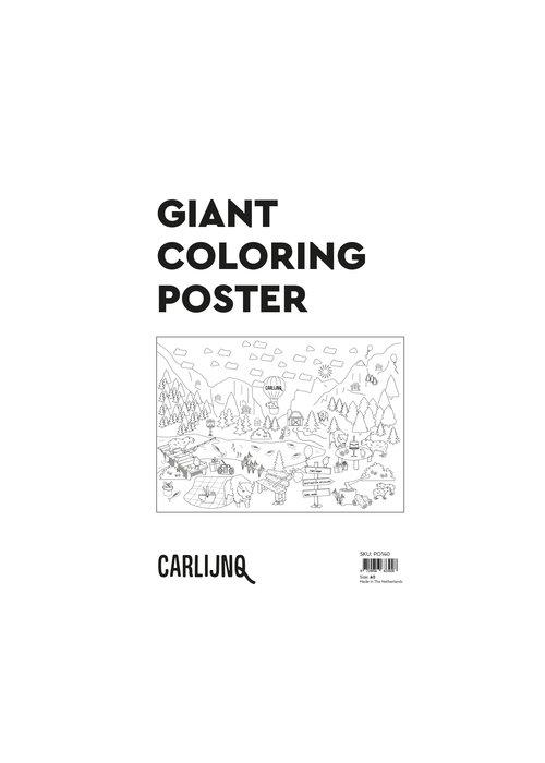 CarlijnQ CarlijnQ Giant Coloring poster