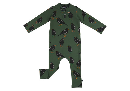 CarlijnQ CarlijnQ Black Bird Jumpsuit