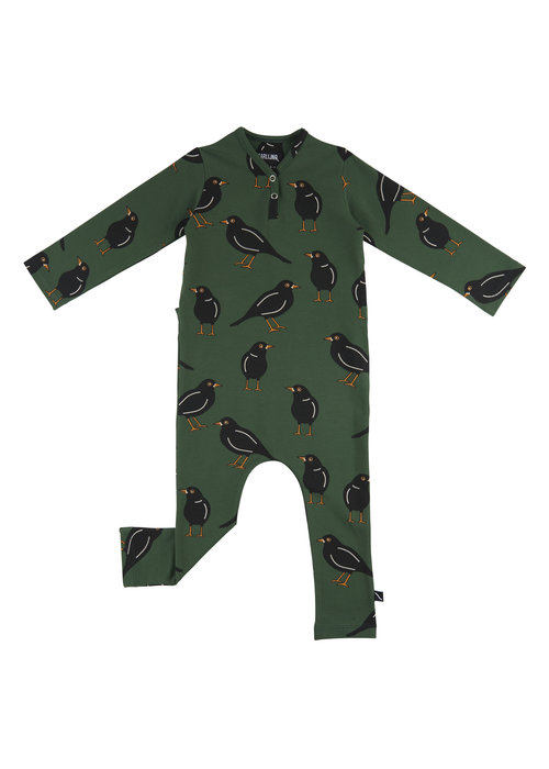 CarlijnQ CarlijnQ Black Bird Jumpsuit