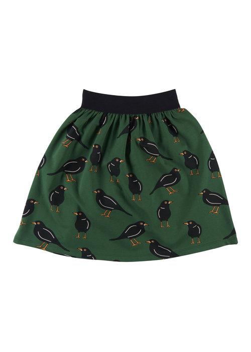 CarlijnQ CarlijnQ Black Bird Long Skirt
