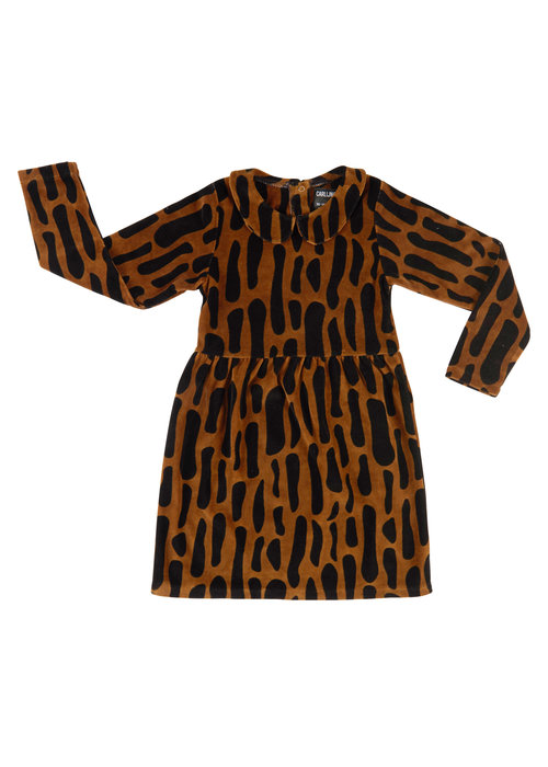 CarlijnQ CarlijnQ Dress Bark Collar Dress