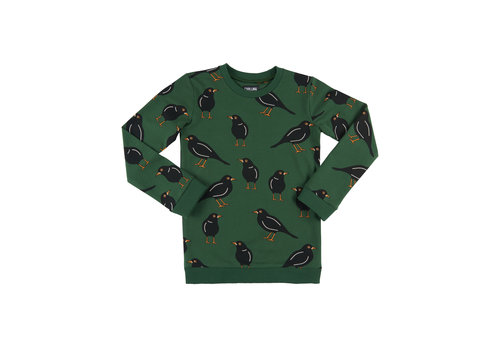 CarlijnQ CarlijnQ Black Bird Sweater