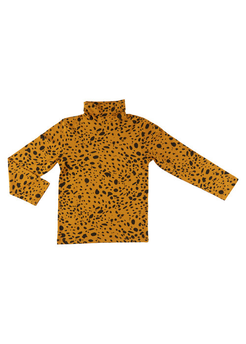 CarlijnQ CarlijnQ Spotted Animal Turtleneck Longsleeve