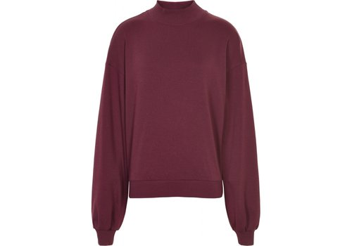 Cost Bart Cost Bart Gulzar Cropped Sweatshirt Bordeaux