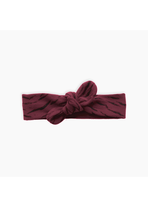 Sproet & Sprout Sproet & Sprout Headband Tiger Top Burgundy