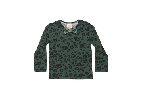 Wauw Capow by BangBang CPH Wauw Capow by BangBang Eddie Shirt Green Leopard