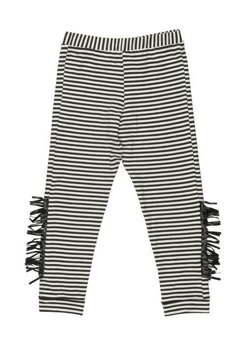 Wauw Capow by BangBang CPH Wauw Capow by BangBang Wayne Pants Black and White Stripes