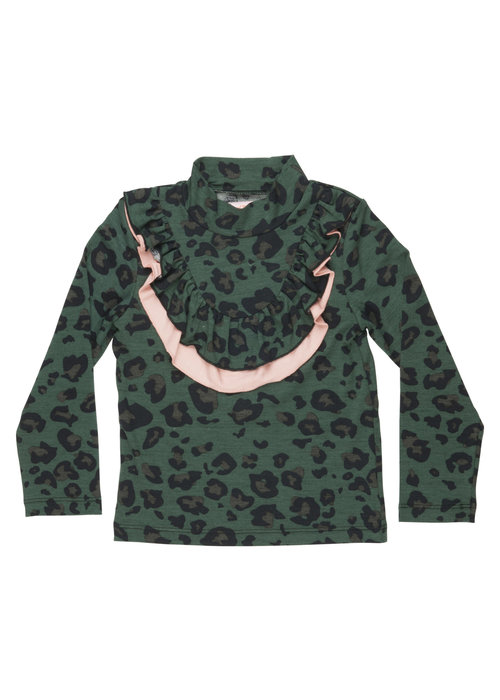 Wauw Capow by BangBang CPH Wauw Capow by BangBang Ally Shirt Green Leopard