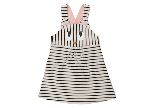 Wauw Capow by BangBang CPH Wauw Capow by BangBang Miss Meow Dress LIMITED Black and White Stripes