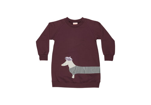Wauw Capow by BangBang CPH Wauw Capow by BangBang Frenchy Dress Bordeaux
