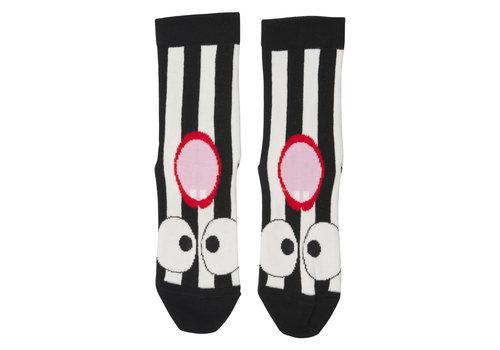 Wauw Capow by BangBang CPH Wauw Capow by BangBang Lala Socks Black and White Stripes