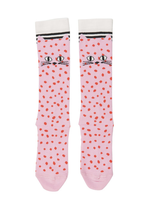 Wauw Capow by BangBang CPH Wauw Capow by BangBang Cats Knee Socks Pink