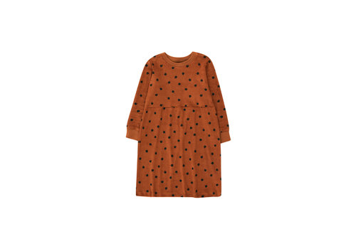 Tinycottons Tinycottons Small Apples Dress Brown