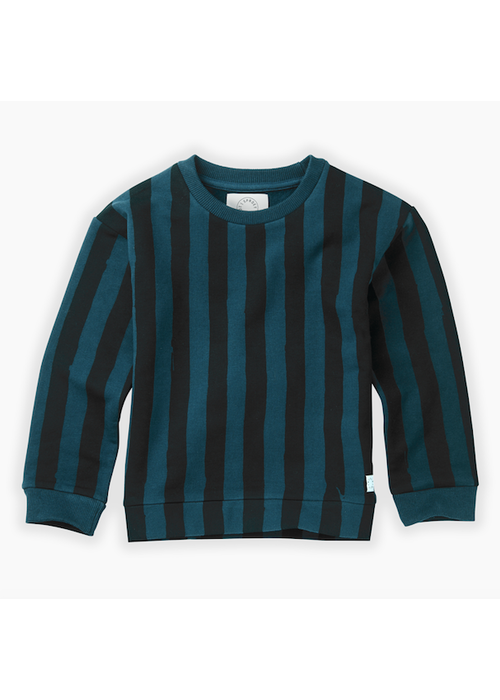 Sproet & Sprout Sproet & Sprout Sweatshirt Painted Stripe Moonlight