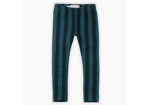 Sproet & Sprout Sproet & Sprout Sweat legging Painted Stripe Moonlight