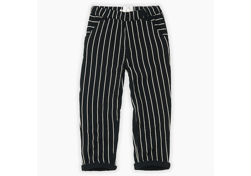 Sproet & Sprout Sproet & Sprout Woven Pants Stripe Black Stripe