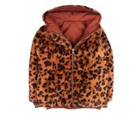 Ammehoela Lola Reversible Jacket Pink Tiger