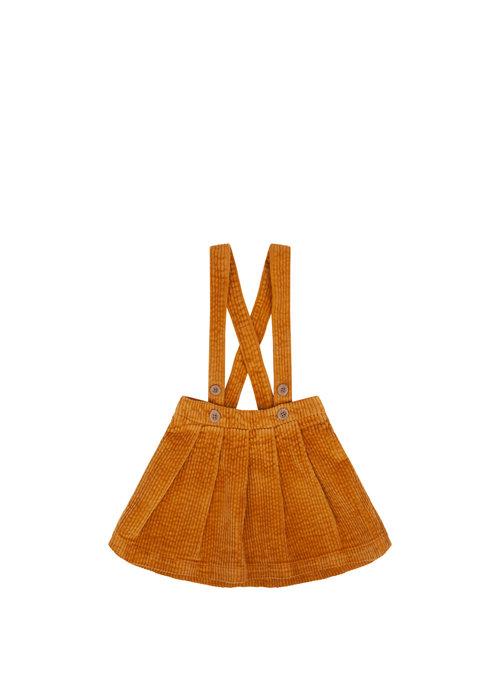 Mingo Mingo Salopette Skirt Corduroy Sudan