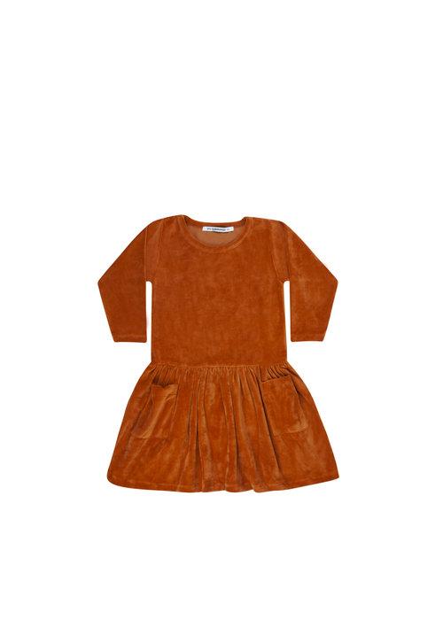 Mingo Mingo Dress Terry Leather Brown