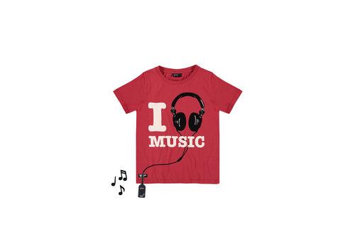 Yporqué Yporqué  Love Music Tee True Red