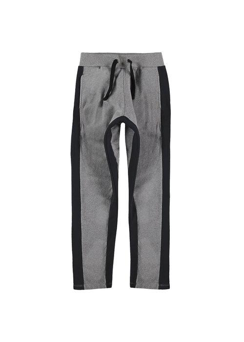 Yporqué Yporqué Double Striped Pants Grey Melange