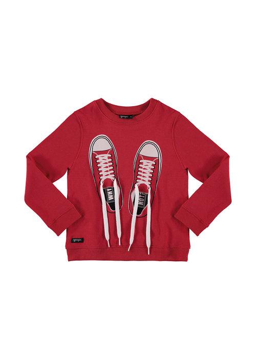 Yporqué Yporqué Shoelaces Sweat True Red
