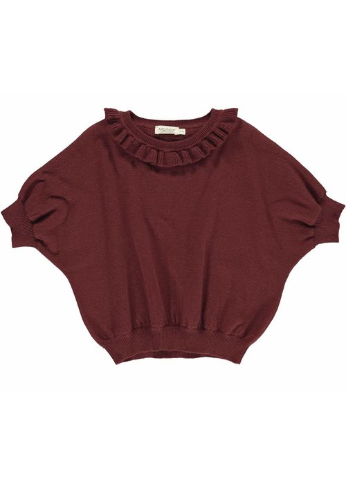 MarMar MarMar Tagea, Light Cotton Wool, Knitwear- Wine