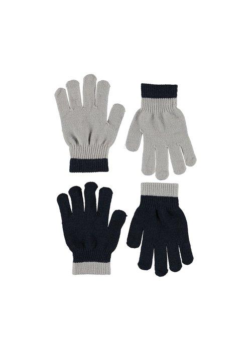 Molo Molo Kello Gloves Grey Melange 8-16y