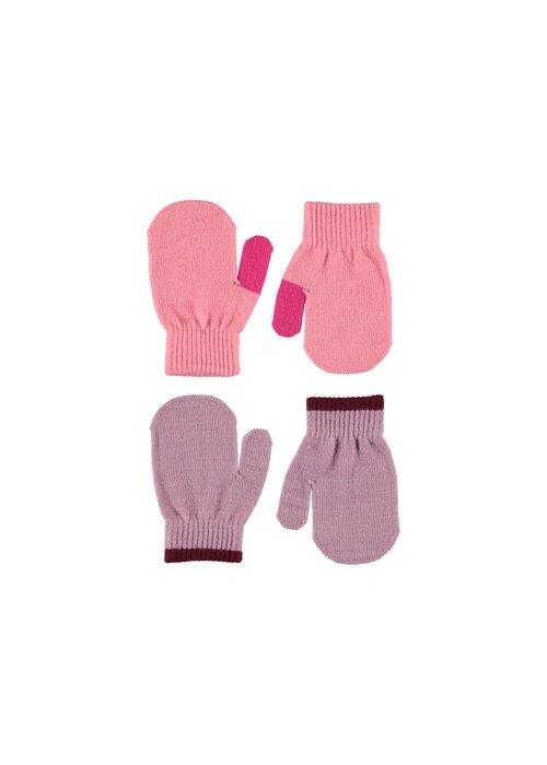 Molo Molo Kenny Mittens Bubble Pink 0-3y