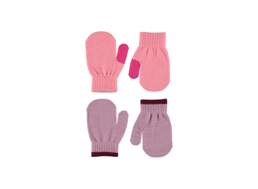 Molo Kenny Mittens Bubble Pink 0-3y