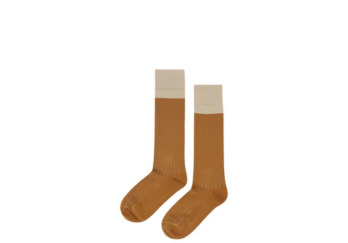 Mingo Mingo Knee Socks Sand/Sudan