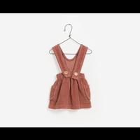 PlayUp Corduroy Dungaree Skirt