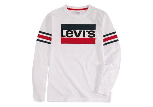 LEVI'S LEVI'S Tee Shirt LS White