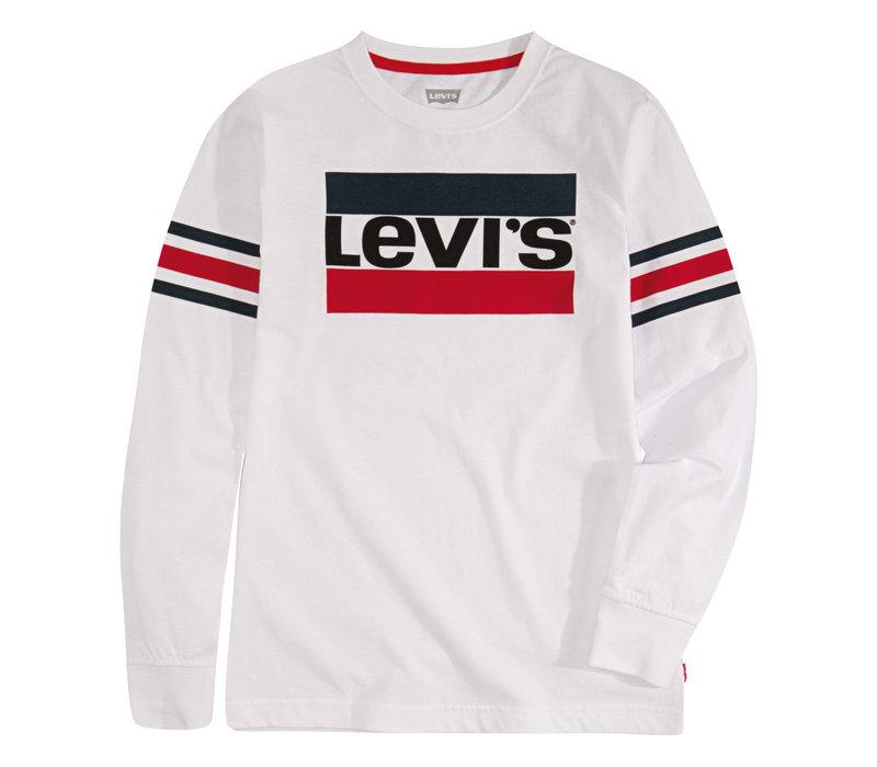 LEVI'S Tee Shirt LS White