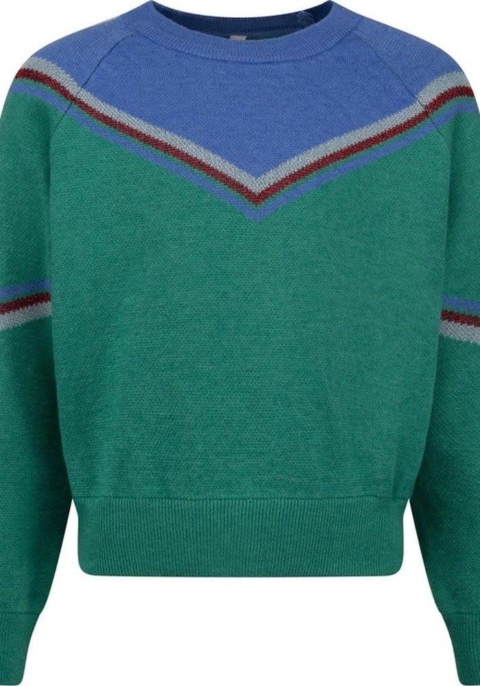 CKS Kizzy Pullover Punk Green