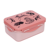 Petit Monkey Petit Monkey Lunchbox Black  Animals
