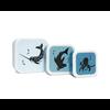 Petit Monkey Petit Monkey Lunchbox Set Sea Animals