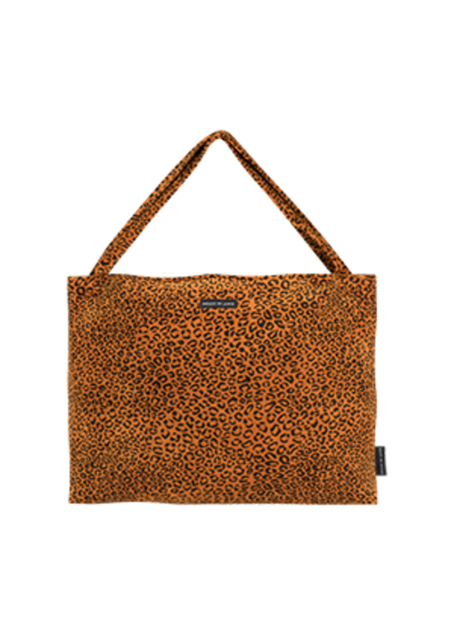 House of Jamie House of Jamie On the Go Bag Golden Brown Leopard