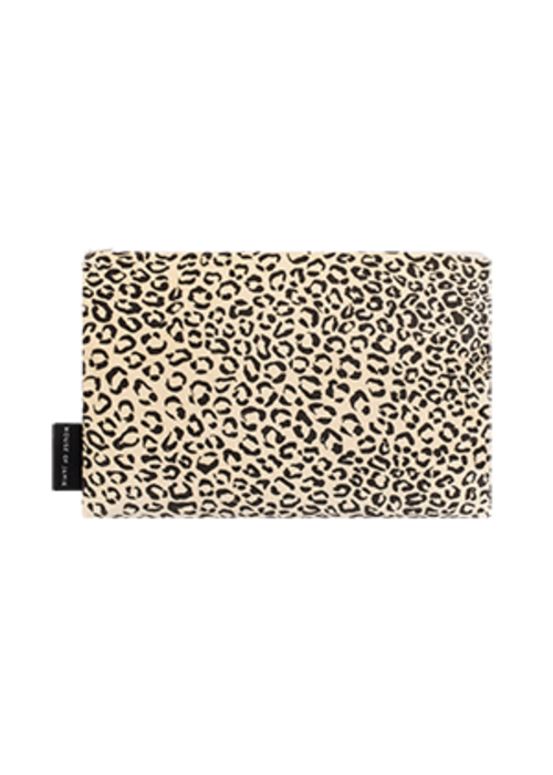House of Jamie House of Jamie On the Go Clutch Snow Leopard