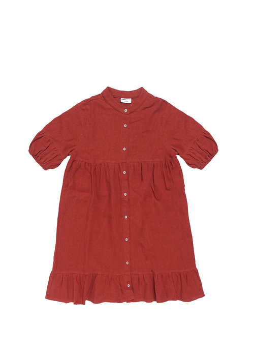 Maed for Mini Maed for Mini Bordeaux Badger Dress