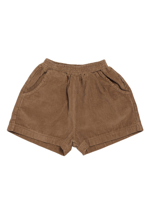 Maed for Mini Maed for Mini Chocolate Pony Rib Shorts