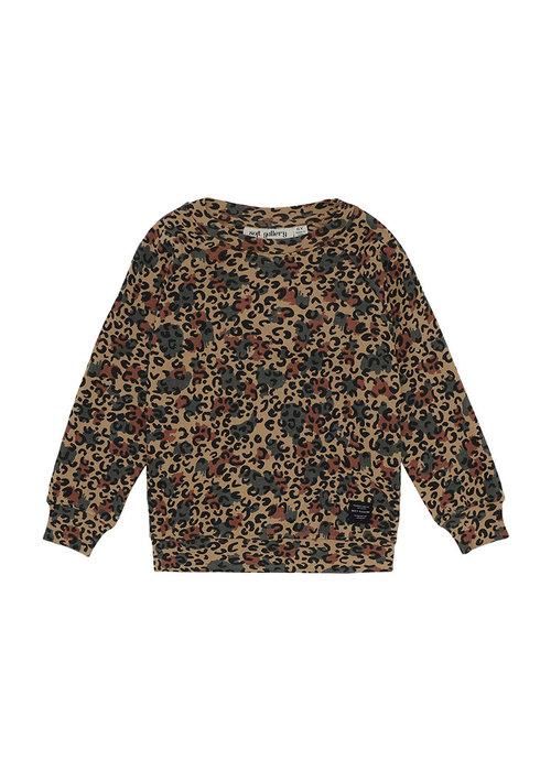Soft Gallery Soft Gallery Chaz Sweatshirt Doe AOP Camoleo