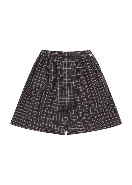 Soft Gallery Soft Gallery Dixie Skirt Peat AOP Lattice